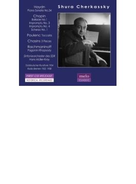 ラフマニノフ:パガニーニ狂詩曲、ショパン:幻想即興曲、他 チェルカスキー、ミュラー=クライ&シュトゥットガルト放送響