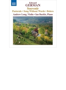 ヴァイオリンとピアノのための作品集 アンドリュー・ロング、イアン・バックル
