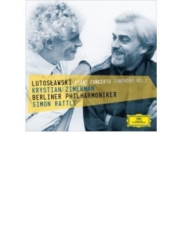 Piano Concerto, Sym, 2, : Zimerman(P) Rattle / Bpo