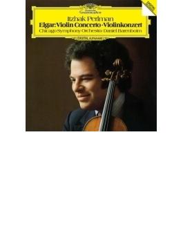 ヴァイオリン協奏曲 パールマン、バレンボイム&シカゴ交響楽団
