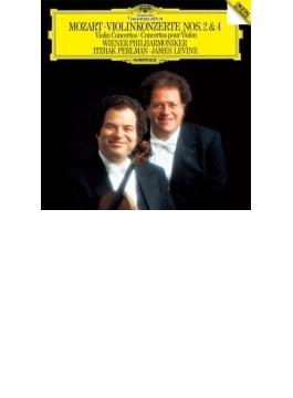 ヴァイオリン協奏曲第2番、第4番 パールマン、レヴァイン&ウィーン・フィル