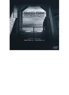 ヴァイオリンとピアノのための作品集 ジャスパー・ウッド、デイヴィッド・ライリー