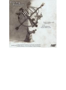 『ピース&パッセージ~現代ヴァイオリン作品集』 スコット・コンクリン