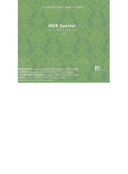 Jack Q: First Performance-rodericus, E.carter, Crawford Seeger, G.f.haas (+brd)