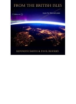 『ブリテン諸島から~フルート・リサイタル』 ケネス・スミス、ポール・ローズ(2CD)