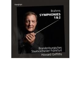 交響曲第1番、第2番 グリフィス&フランクフルト・ブランデンブルク州立管弦楽団