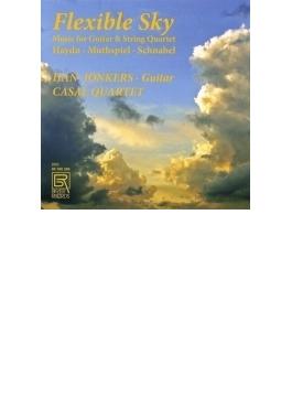 フレキシブル・スカイ~ギターと弦楽四重奏のための作品集 ヨンケルス、カザル四重奏団