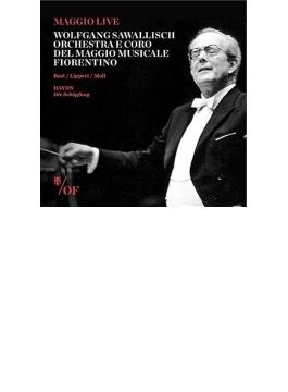 オラトリオ『天地創造』 サヴァリッシュ&フィレンツェ五月祭管、A.ロスト、リッペルト、モル(2CD)
