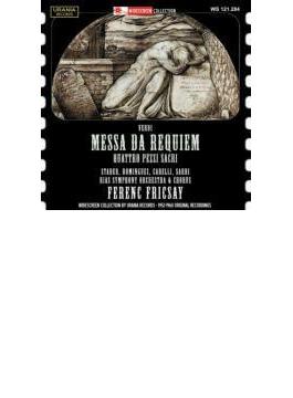 Requiem: Fricsay / Berlin Rias So Stader Dominguez Carelli Sardi: +quattro Pezzi Sacri, Etc