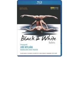 『白と黒』 キリアン、ネザーランド・ダンス・シアター