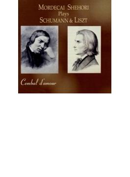 シューマン:ピアノ・ソナタ第2番、アラベスク、リスト:バラード第2番、夕べの調べ、他 シェホリ