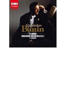イギリス組曲第6番、第1番、3つのコラール ブーニン