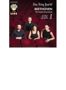 弦楽四重奏曲全集第1集~第4、10、13番 エリアス弦楽四重奏団(2CD)