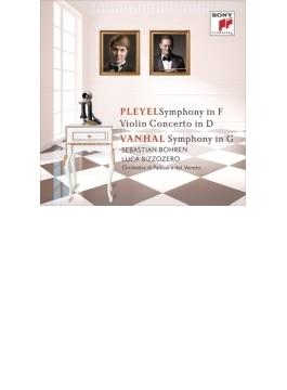 プレイエル:交響曲、ヴァイオリン協奏曲、ヴァンハル:交響曲 ビッゾゼロ&パドヴァ・ヴェネート管、ボーレン