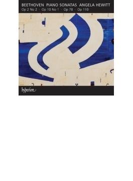 ピアノ・ソナタ第31番、第24番『テレーゼ』、第5番、第2番 ヒューイット
