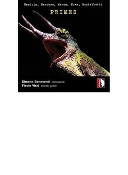 『素数~エレクトリック・ギターと打楽器のための作品集』 ヴィルツィ、ベネヴェンティ