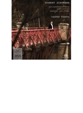 Davidsbundlertanze, Nachtstucke, Gesange Der Fruhe: Caspar Frantz(P) (Hyb)