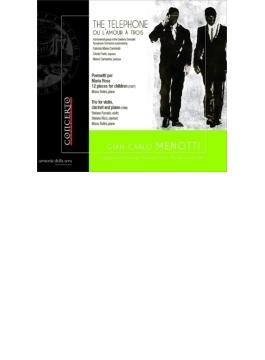 『電話』全曲 カルミナーティ&ドニゼッティ響、フォルテ、カマストラ(2000 ステレオ)、ピアノ三重奏曲、小詩集 ソリーニ、他(日本語解説付)