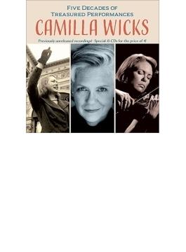 カミラ・ウィックス 至宝の演奏50年(6CD)