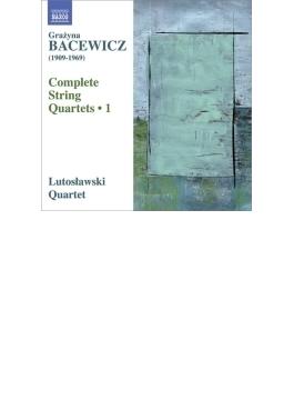 弦楽四重奏曲第1、3、6、7番 ルトスワフスキ四重奏団
