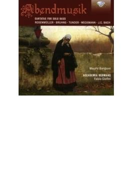 夕べの音楽~バス独唱のためのカンタータ集 ボルジョーニ、チオフィーニ&アッカデミア・ヘルマンス
