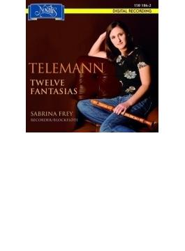12 Fantasies For Flute: Sabine Frey(Rec)