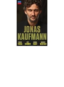 ヨナス・カウフマン~4つのオペラ全曲 トスカ、カルメン、ファウスト、ウェルテル(6DVD)