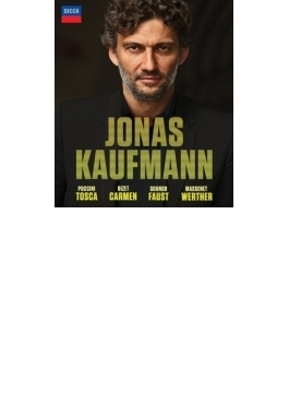 ヨナス・カウフマン~4つのオペラ全曲 トスカ、カルメン、ファウスト、ウェルテル(4BD)