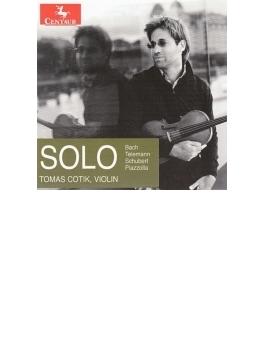 Tomas Cotik: Solo-j.s.bach, Telemann, Schubert, Piazzolla