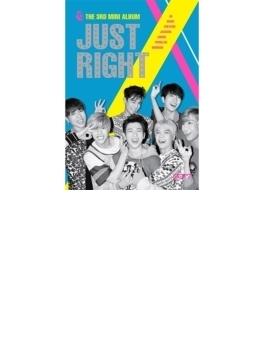 3rd Mini Album: JUST RIGHT