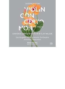 ヴァイオリン協奏曲第1番、協奏交響曲 ズッカーマン、ロサンジェルス・フィル
