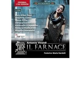 歌劇『ファルナーチェ』全曲 サルデッリ&フィレンツェ五月祭、ネージ、プリナ、他(2013 ステレオ)(2CD)