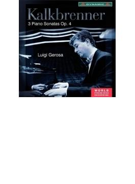 3つのピアノ・ソナタ作品4 ジェローザ