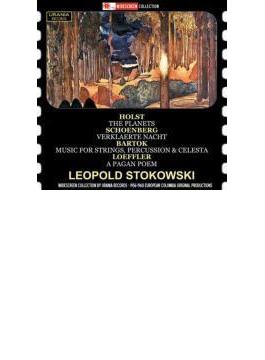 Stokowski: Holst: The Planets, Schoenberg: Verklarte Nacht, Bartok