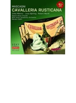 『カヴァレリア・ルスティカーナ』全曲 チェリーニ&RCAビクター響、ビョルリンク、ミラノフ、メリル、他(1953 モノラル)