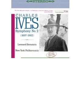 交響曲第2番、第3番『キャンプ・ミーティング』 バーンスタイン&ニューヨーク・フィル(+アイヴズについて)