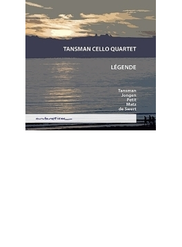 『レジェンド~チェロ四重奏のための作品集』 タンスマン・チェロ四重奏団