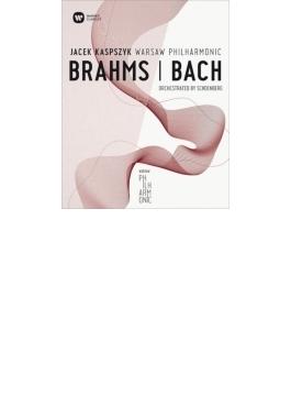 シェーンベルク編曲集~ブラームス:ピアノ四重奏曲第1番、バッハ:聖アン カスプシーク&ワルシャワ・フィル