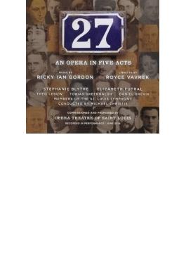 歌劇『27』全曲 M.クリスティ&セントルイス響、ブライス、フートラル、他(2014 ステレオ)(2CD)