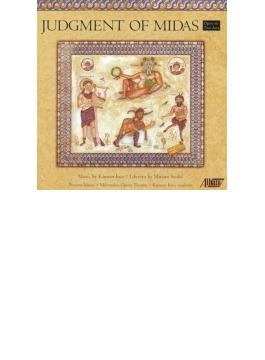 歌劇『ミダス王の審判』全曲 インス&器楽アンサンブル、ディバッティスタ、J.ゴルツ、他(2013 ステレオ)(2CD)