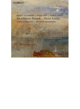 『ハイネの詩による歌曲集~シューマン:リーダークライス、R.フランツ、リスト』 イムラー、スタロビンスキ