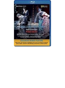 『カヴァレリア・ルスティカーナ』『道化師』 アサガロフ演出、ランツァーニ&チューリッヒ歌劇場、ホセ・クーラ、他(2009 ステレオ 日本語字幕付)(特別価格)