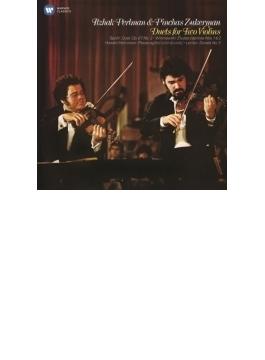 2つのヴァイオリンのための二重奏集 パールマン、ズッカーマン