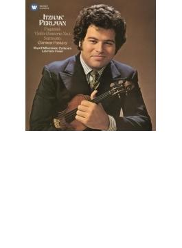 パガニーニ:ヴァイオリン協奏曲第1番、サラサーテ:カルメン幻想曲 パールマン、L.フォスター&ロイヤル・フィル