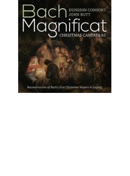 マニフィカト(初稿版)、カンタータ第63番~ライプツィヒにおけるバッハ最初のクリスマス晩課の再現 バット&ダニーデン・コンソート
