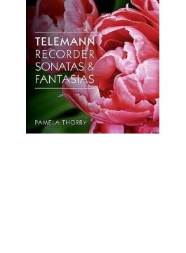 リコーダー・ソナタ集、12の幻想曲 トービー、ウィーラン、他(2CD)