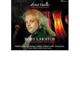 ヴィヴァルディ:『四季』、チェーキ:『アルファ』『オメガ』、他 ロビー・ラカトシュ、ブリュッセル室内管、他