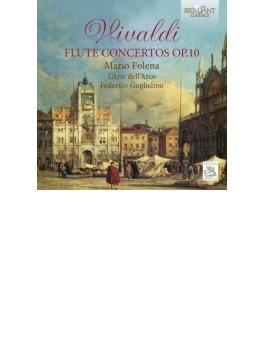 6つのフルート協奏曲作品10 フォレーナ、グリエルモ&ラルテ・デラルコ
