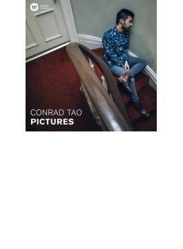 ムソルグスキー:展覧会の絵、武満徹:閉じた眼2、カーター:ピアノについての2つの考察、他 コンラッド・タオ