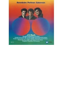 ヴァイオリン協奏曲集 パールマン、ズッカーマン、バレンボイム&イギリス室内管(2CD)